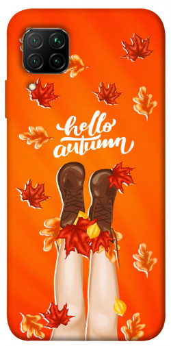 Чехол itsPrint Hello autumn для Huawei P40 Lite
