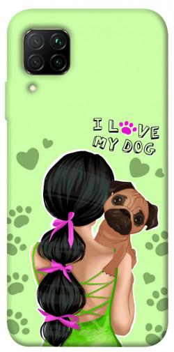 Чехол itsPrint Love my dog для Huawei P40 Lite