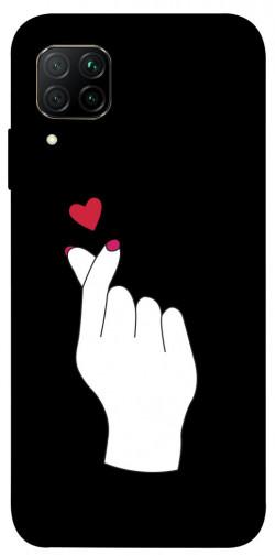 Чехол iPrint Сердце в руке для Huawei P40 Lite