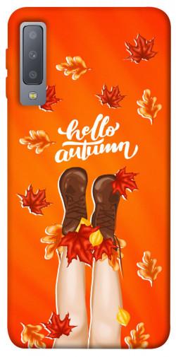 Чехол itsPrint Hello autumn для Samsung A750 Galaxy A7 (2018)