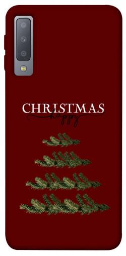 Чехол iPrint Счастливого Рождества для Samsung A750 Galaxy A7 (2018)