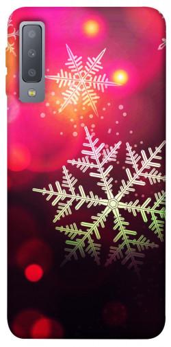 Чехол iPrint Снежинки для Samsung A750 Galaxy A7 (2018)