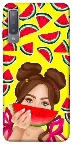 Чехол itsPrint Watermelon girl для Samsung A750 Galaxy A7 (2018)
