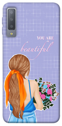 Чехол itsPrint You are beautiful для Samsung A750 Galaxy A7 (2018)