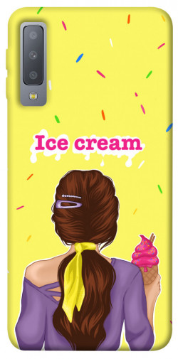Чехол itsPrint Ice cream girl для Samsung A750 Galaxy A7 (2018)