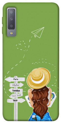 Чехол itsPrint Travel girl для Samsung A750 Galaxy A7 (2018)