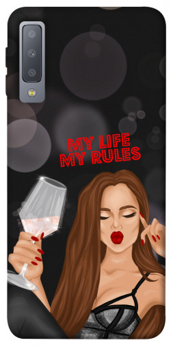 Чехол itsPrint My life my rules для Samsung A750 Galaxy A7 (2018)