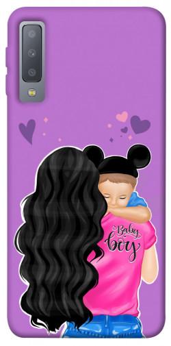 Чехол itsPrint Baby boy для Samsung A750 Galaxy A7 (2018)