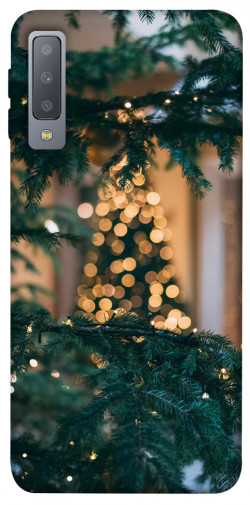 Чехол iPrint Елочная гирлянда для Samsung A750 Galaxy A7 (2018)