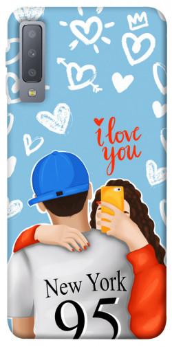 Чехол itsPrint Forever end ever для Samsung A750 Galaxy A7 (2018)