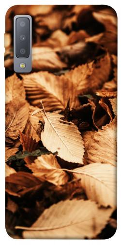 Чехол itsPrint Опавшая листва для Samsung A750 Galaxy A7 (2018)