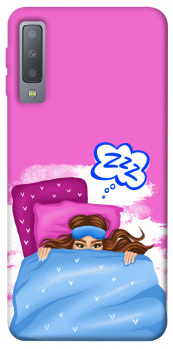 Чехол itsPrint Sleepу girl для Samsung A750 Galaxy A7 (2018)