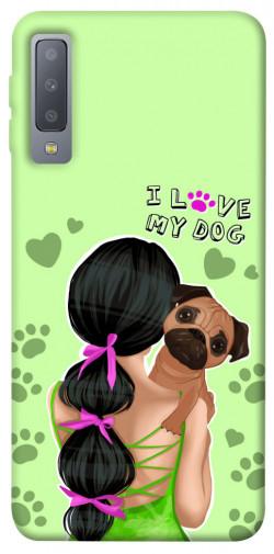Чехол itsPrint Love my dog для Samsung A750 Galaxy A7 (2018)