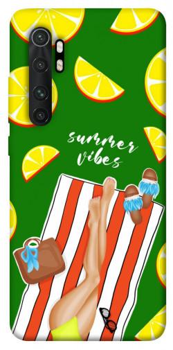 Чехол itsPrint Summer girl для Xiaomi Mi Note 10 Lite