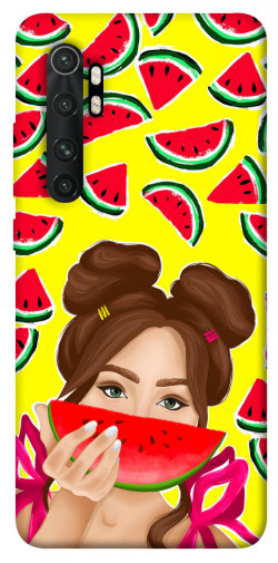 Чехол itsPrint Watermelon girl для Xiaomi Mi Note 10 Lite