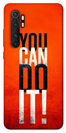 Чехол itsPrint You can do it для Xiaomi Mi Note 10 Lite