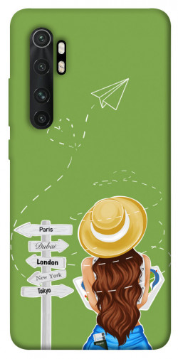 Чехол itsPrint Travel girl для Xiaomi Mi Note 10 Lite