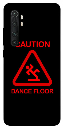 Чехол iPrint CAUTION DANCE FLOOR для Xiaomi Mi Note 10 Lite
