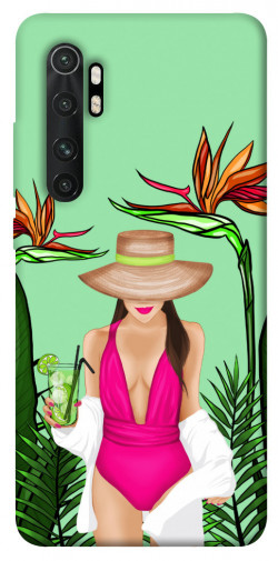 Чехол itsPrint Tropical girl для Xiaomi Mi Note 10 Lite
