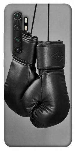 Чехол itsPrint Черные боксерские перчатки для Xiaomi Mi Note 10 Lite
