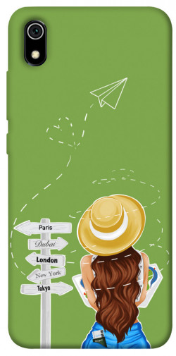 Чехол itsPrint Travel girl для Xiaomi Redmi 7A