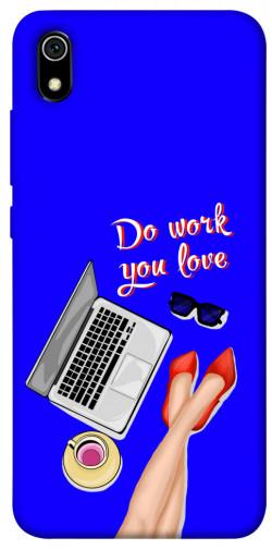 Чехол itsPrint Do work you love для Xiaomi Redmi 7A