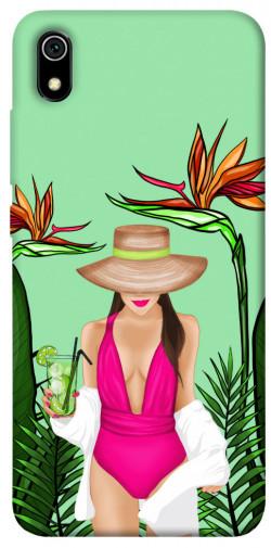 Чехол itsPrint Tropical girl для Xiaomi Redmi 7A
