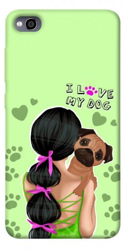 Чехол itsPrint Love my dog для Xiaomi Redmi 4a
