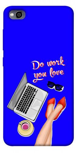 Чехол itsPrint Do work you love для Xiaomi Redmi 4a
