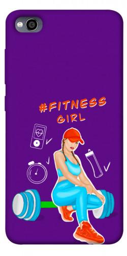 Чехол itsPrint Fitness girl для Xiaomi Redmi 4a