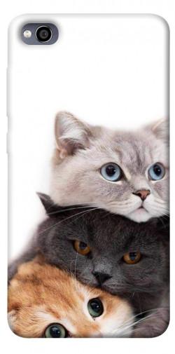 Чехол itsPrint Три кота для Xiaomi Redmi 4a
