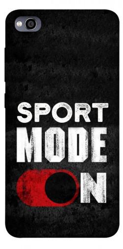 Чехол itsPrint Sport mode on для Xiaomi Redmi 4a