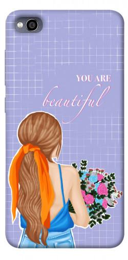 Чехол itsPrint You are beautiful для Xiaomi Redmi 4a