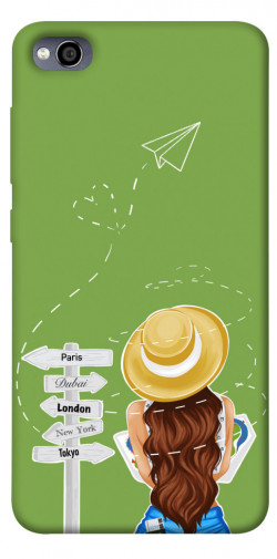Чехол itsPrint Travel girl для Xiaomi Redmi 4a