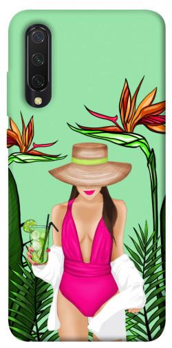 Чехол itsPrint Tropical girl для Xiaomi Mi CC9 / Mi 9 Lite