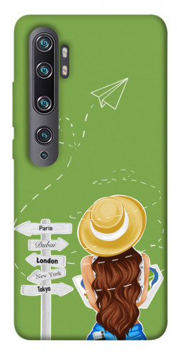 Чехол itsPrint Travel girl для Xiaomi Mi Note 10 / Note 10 Pro / Mi CC9 Pro