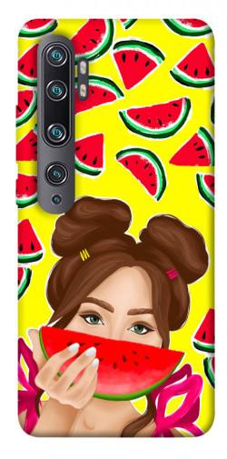 Чехол itsPrint Watermelon girl для Xiaomi Mi Note 10 / Note 10 Pro / Mi CC9 Pro