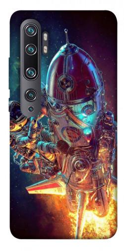 Чехол itsPrint Космический корабль для Xiaomi Mi CC9 Pro