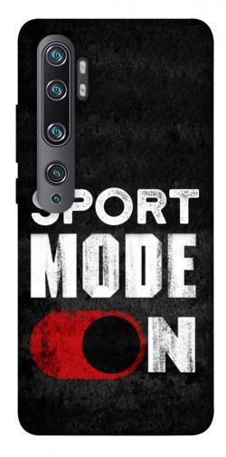 Чехол itsPrint Sport mode on для Xiaomi Mi CC9 Pro