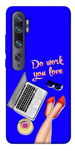 Чехол itsPrint Do work you love для Xiaomi Mi CC9 Pro