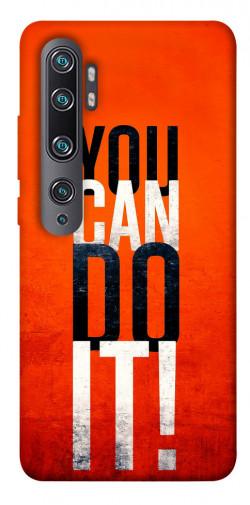 Чехол itsPrint You can do it для Xiaomi Mi CC9 Pro