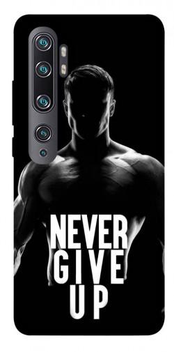 Чехол itsPrint Never give up для Xiaomi Mi CC9 Pro