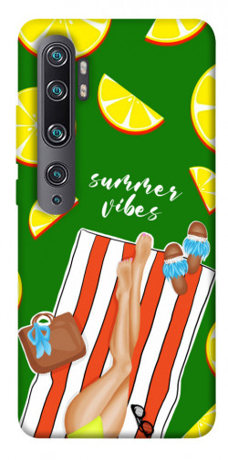 Чехол itsPrint Summer girl для Xiaomi Mi CC9 Pro