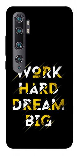 Чехол itsPrint Work hard для Xiaomi Mi CC9 Pro