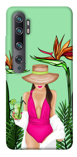 Чехол itsPrint Tropical girl для Xiaomi Mi CC9 Pro