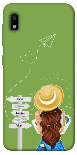 Чехол itsPrint Travel girl для Samsung Galaxy A10 (A105F)