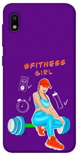 Чехол itsPrint Fitness girl для Samsung Galaxy A10 (A105F)