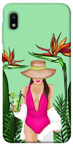Чехол itsPrint Tropical girl для Samsung Galaxy A10 (A105F)