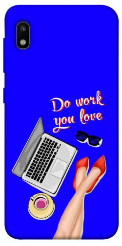Чехол itsPrint Do work you love для Samsung Galaxy A10 (A105F)