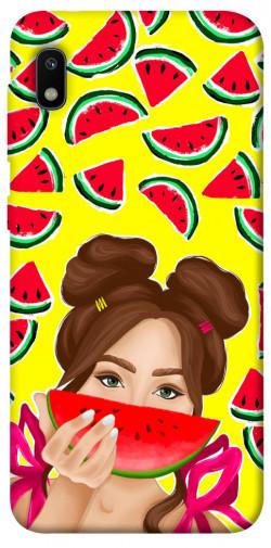Чехол itsPrint Watermelon girl для Samsung Galaxy A10 (A105F)